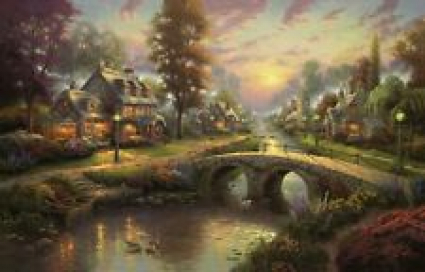 Thomas Kinkade 11 x 14  Art Prints (Choice of 5)