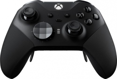 Microsoft - Geek Squad Certified Refurbished Xbox Elite Wireless Controller Series 2 for Xbox One - Black