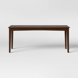 Bensenville Expandable Dining Table Brown - Threshold™