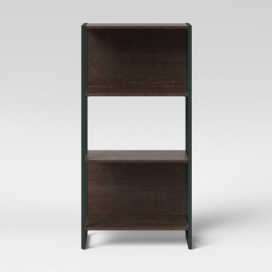 "51.3"" Paulo 3 Shelf Bookcase Midtone Brown - Project 62™"