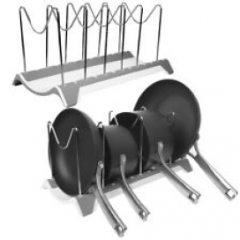 2pk Room Essentials Dish Drying Rack, Pot Rack, Pot Lid Organizer For Kitchen
