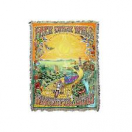 Grateful Dead Fare Thee Well The Golden Road Woven Blanket