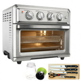 Cuisinart TOA-60 Convection Toaster Oven Air Fryer with Extreme Kitchen Bundle