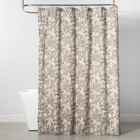 Floral Shower Curtain Tan - Project 62™