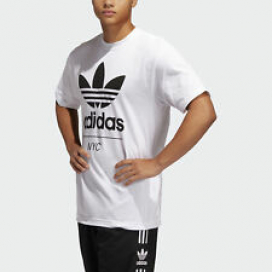 adidas Originals New Stacked NYC Trefoil Tee Men's