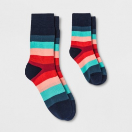 Pair of Thieves Men's Simon Ese Dad + Kid Casual Socks - Red/Blue