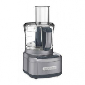 Cuisinart Elemental 8 Cup Chopper Food Processor, Gray (Certified Refurbished)