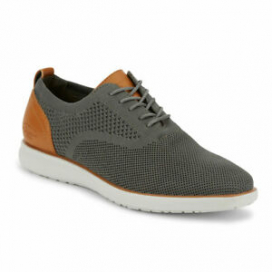 G.H. Bass & Co. Mens Connor KT Casual Stretch Knit Oxford Sneaker Shoe