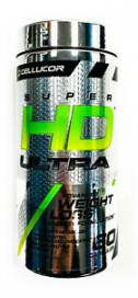 Cellucor SUPER HD ULTRA Fat Burner Weight Loss Energy 60 capsules - SALE