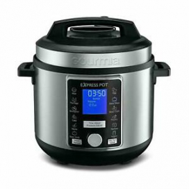 Gourmia 1000W 6 Qt. Capacity 13-in-1 Stainless Multi-Mode Pot Pressure Cooker