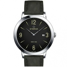 ETERNA 2730.41.48.1397 Men's Eternity Black Quartz Watch