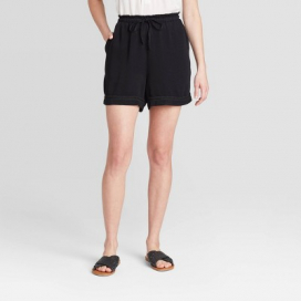 Women's Mid-Rise Utility Tie-Front Shorts - Knox Rose™
