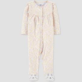 Baby Girls' Floral Kitty 1pc Pajama - Just One You® made by carter's