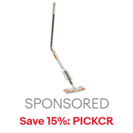 Bissell Smart Details Lightweight Swivel Mop | NEW | 15% off code PICKCR