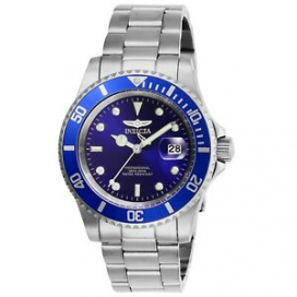 Invicta Men's Pro Diver 26971 40mm Blue Dial Stainless Steel Watch