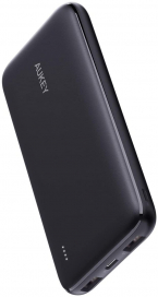 AUKEY USB C Power Bank, 10000mAh Portable Charger, Dual-Output